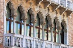 Renaissance palace in Venice Stock Photo