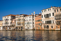Renaissance palaces, Venice, Italy Stock Images
