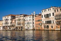 Renaissance palaces, Venice, Italy stock images