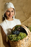Renaissance peasant girl portrait Royalty Free Stock Photos