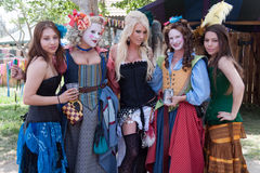 Renaissance Pleasure Faire Stock Image