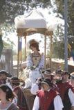 Renaissance Pleasure Faire - Queen's Procession 2 Royalty Free Stock Photos