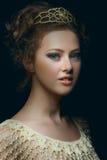 Renaissance portrait Stock Images