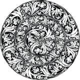 Renaissance seamless pattern illustration. Made in adobe illustrator Royalty Free Stock Photos