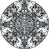 Renaissance seamless pattern illustration. Made in adobe illustrator Stock Image
