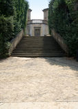 Renaissance staircase to the Garden of the Knight in Boboli Gardens, Florence, Italy Royalty Free Stock Images