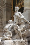 Renaissance statue in the Petit Palais Royalty Free Stock Image