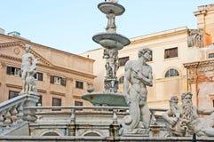 The Renaissance statues Stock Image