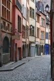 Renaissance street in Saint-Jean district Stock Images