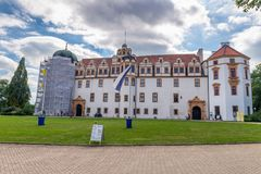 The renaissance style castle in Celle, Lower Saxony - Germany Stock Photography