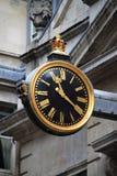 Renaissance style clock in London. Renaissance style clock in the city of London, UK Stock Photo