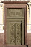 Renaissance style front door Stock Images