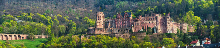 Renaissance style Heidelberg Castle in Germany Stock Image