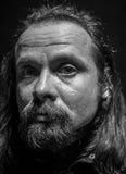 The Renaissance style male portrait. Black and white the Renaissance style male portrait Stock Photo