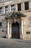 Renaissance style old entrance Stock Image
