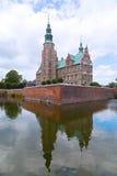 Renaissance style Rosenborg Castle in Copenhagen, Denmark. Royalty Free Stock Images
