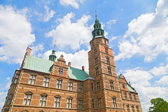 Renaissance style Rosenborg Castle in Copenhagen, Denmark. Royalty Free Stock Image