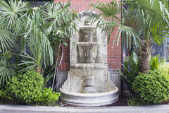 Renaissance Style Water Fountain Royalty Free Stock Images