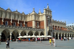 The Renaissance Sukiennice in Krakow Poland Stock Photo