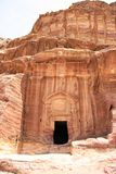 Renaissance Tomb in Petra, Jordan Royalty Free Stock Photo
