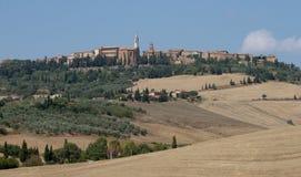 Renaissance town Pienza Royalty Free Stock Image