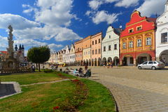 Renaissance town of Telc, Czech Republic Royalty Free Stock Photography