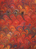 Renaissance/Victorian Marbled Paper 1 royalty free illustration
