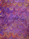 Renaissance/Victorian Marbled Paper 11 Royalty Free Stock Photo