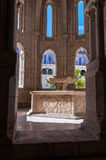 Renaissance water basin in the Monastery of Alcobaca Stock Image