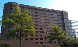 Renaissance Waverly Hotel. Big nice hotels in the south Stock Image