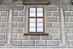 Renaissance window Royalty Free Stock Photo