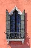 Renaissance window in Venice Royalty Free Stock Photo