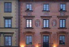 renaissance windows Στοκ Εικόνες