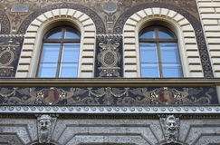 Renaissance windows Royalty Free Stock Image