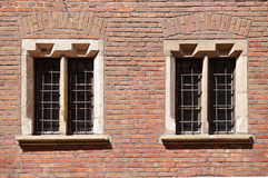 Renaissance windows Royalty Free Stock Images