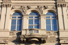Renaissance windows Royalty Free Stock Photos
