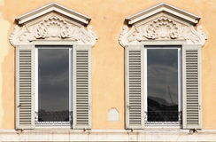 Renaissance windows Royalty Free Stock Photo
