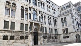 Renaissancearchitektur-Nahaufnahmepanoramablick, Italien, Venedig stock video