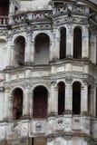 Renaissancefassade am Schloss von Blois Lizenzfreies Stockbild