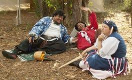 Renaissancefestival Tampa, Florida 3 drunks Lizenzfreies Stockbild