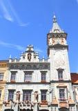 Renaissancehuis - stadhuis Royalty-vrije Stock Afbeeldingen