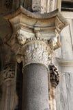 Renaissancekapitaal van een kolom Royalty-vrije Stock Afbeelding