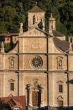 Renaissancekathedraal in Bellinzona Royalty-vrije Stock Afbeeldingen