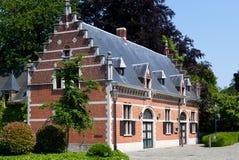 Renaissanceplattelandshuisje Stock Foto's