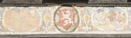 Renaissanceschilderijen Stock Foto
