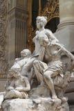 Renaissancestandbeeld in het Petit Palais Royalty-vrije Stock Afbeelding