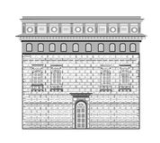Renaissancestijl in architectuur Stock Foto's