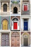 Renaissancevoordeuren Royalty-vrije Stock Foto's