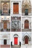 Renaissancevoordeuren Stock Foto's