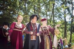 Renaissence Castle Festival Royalty Free Stock Photo